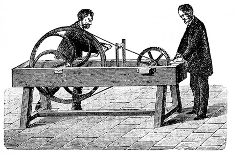 Pierwsza maszyna do pomiarów wysokości dźwięku