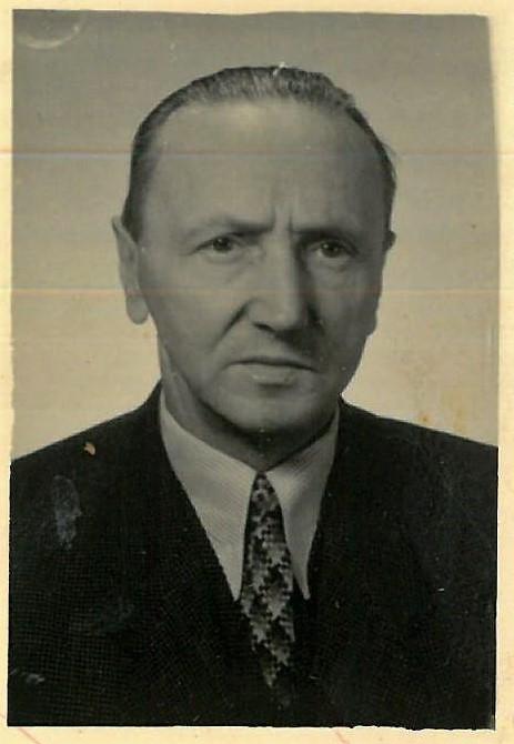 Adam Noworyta lata 50 XX w. (Archiwum Narodowe w Krakowie)