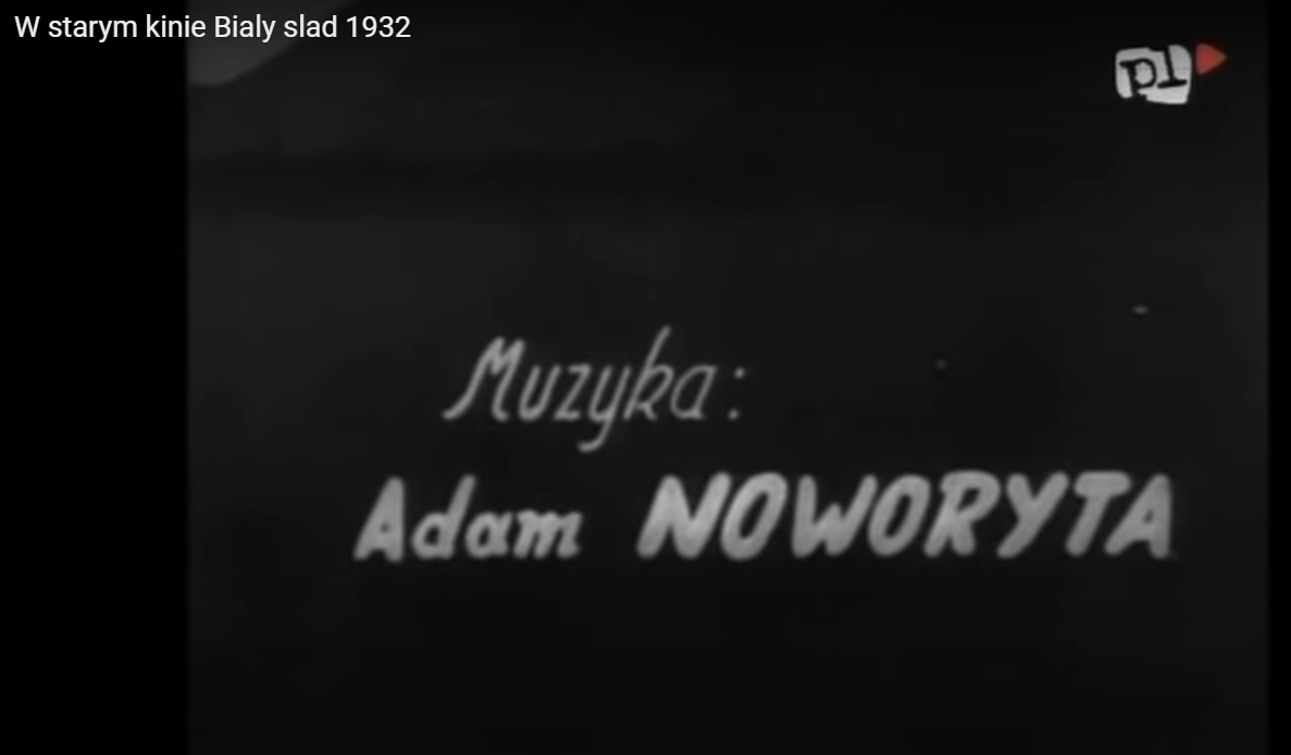 """Kadr w filmu """"Biały ślad"""" z 1932 roku"""