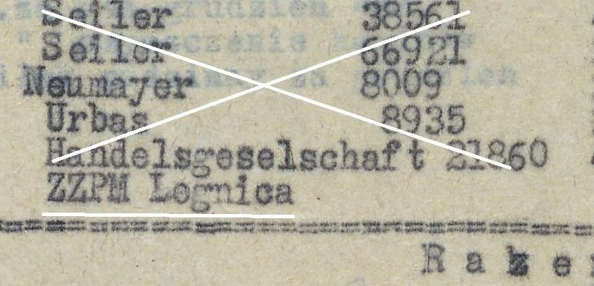 Wykaz instrumentów wykonanych w 1948 roku (AP o/Legnica)