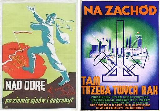 Plakaty z 1945 roku (http://www.muzeum.bochnia.pl )
