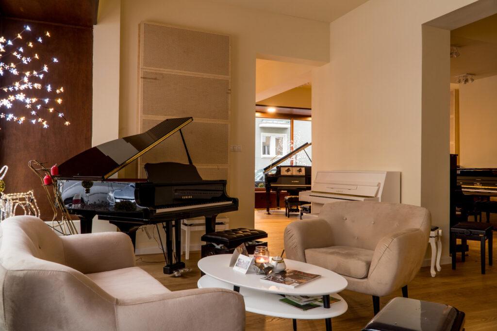 Salon Fortepianów i Pianin Pasja