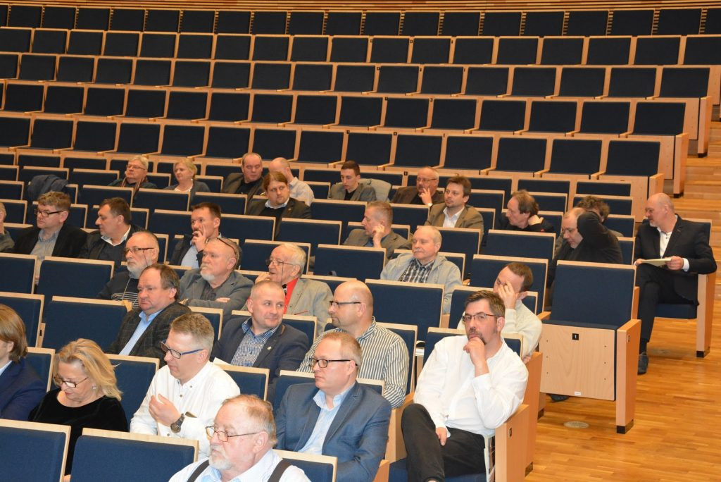 Walne Spotkanie Członków odbyło się w sali koncertowej Europejskiego Centrum Muzyki Krzysztofa Pendereckiego