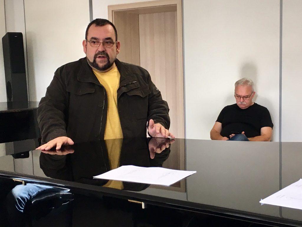 Andrzej Kruszewski, prezes SPSF otwiera szkolenie
