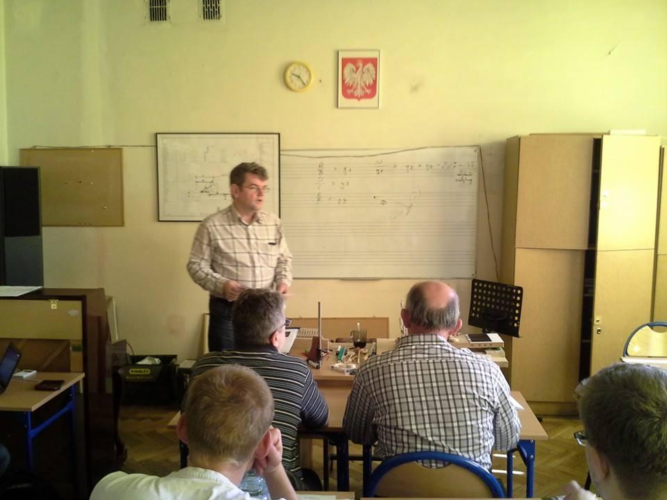 Ryszard Mariański podczas szkolenia/fot. Andrzej Włodarczyk